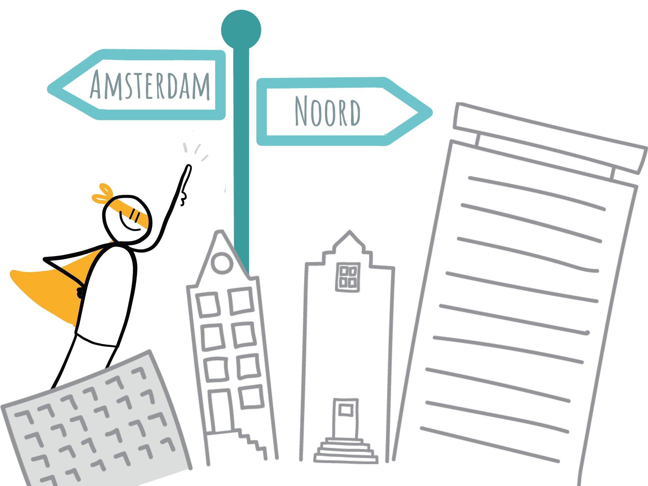 Kantoorruimte Amsterdam-Noord - versie 2