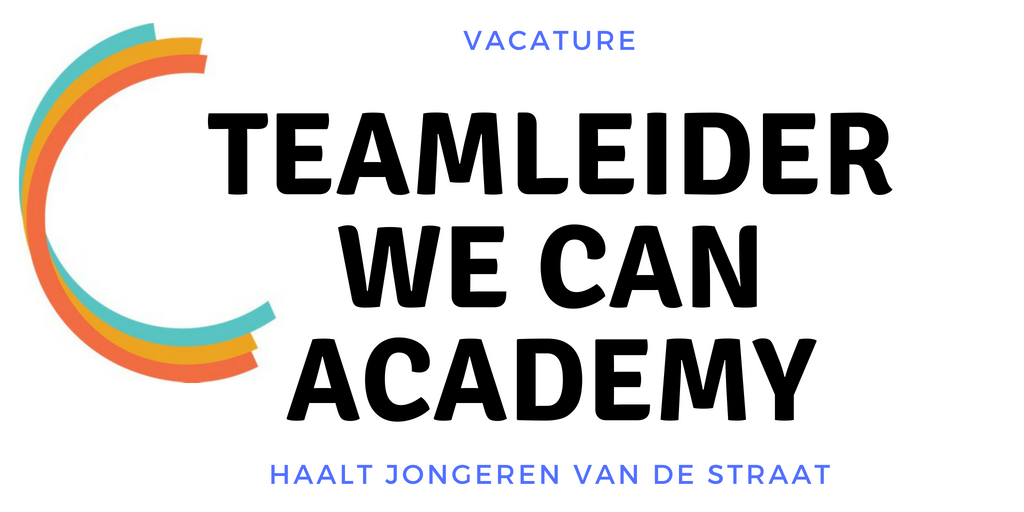 Teamleider We can Academy